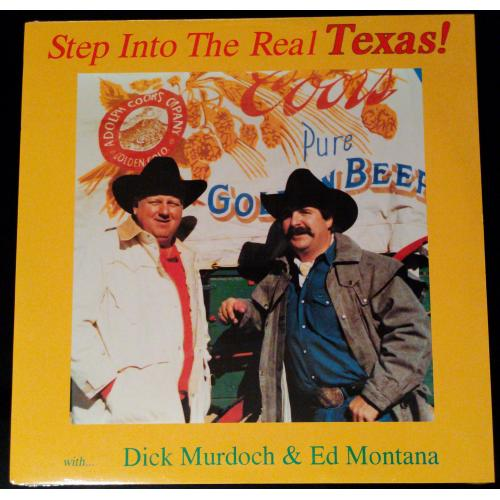 Step Into The Real Texas! - Vinyl Album 33 1/3