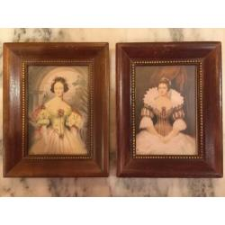 Antique Victorian Women Prints Vilas Mages Co Chicago Vintage Serial Numbers