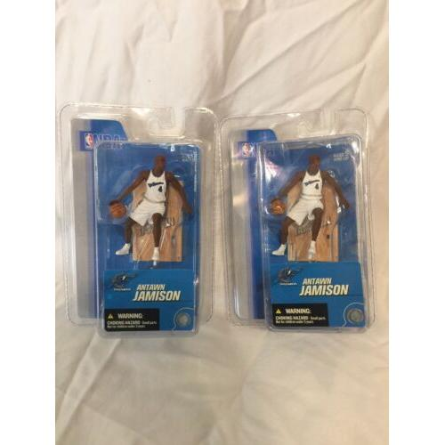 2005 Antawn Jamison Washington Wizards 3 NBA 2nd Edition McFarlane Figure NIP*
