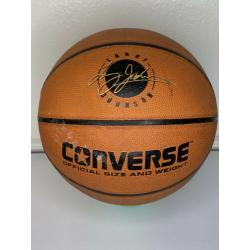 Vintage CONVERSE Larry Johnson Grandmama Basketball Full Size Ball NBA