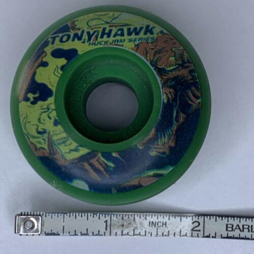 VTG Tony Hawk Huck Jam Series Skateboard (1) Wheel Dura Rollers Green