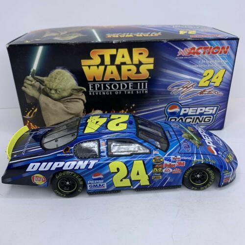 2005 JEFF GORDON #24 PEPSI / STAR WARS III MONTE CARLO 1/24 ACTION DIECAST
