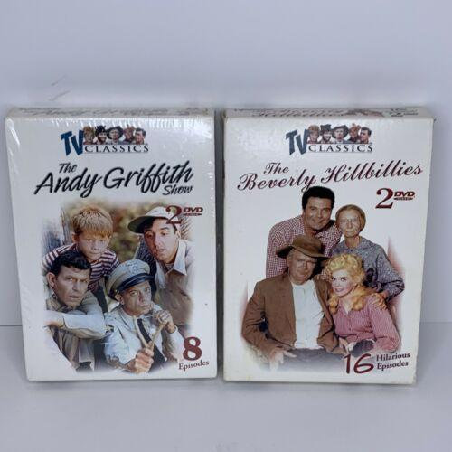 TV Classics The Andy Griffith Show & The Beverly Hillbillies Preowned Dvd Sets