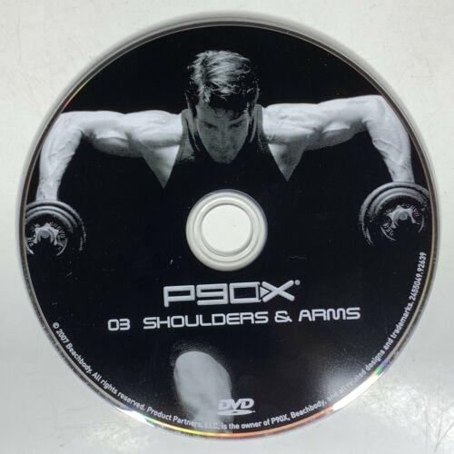 P90X Shoulders & Arms Beachbody The Workouts Disc 3 Replacement Disc Free Ship