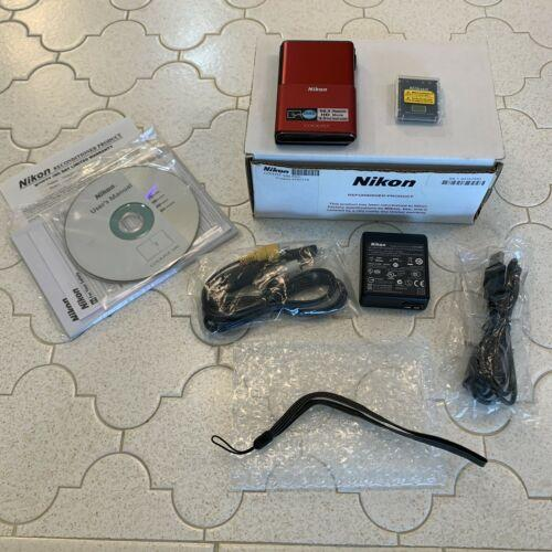 Compact Nikon CoolPix S 80 Digital Camera w/ Accessories Refurbished By Nikon
