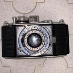 Vintage Agfa Karat Solinar German folding 35mm RF camera CLA Compur-Rapid