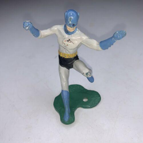 Vintage 3 inch Batman Figure - 1966 Ideal Justice League Playset - Very Rare