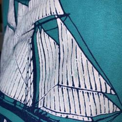 Vntg 80s Baltimore Harbor Place T Shirt 50/50 Screen Stars Single Stitch USA L