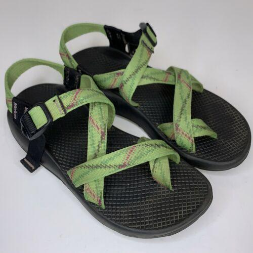 Chaco Z/2 Womens Shoes Green Sport Sandals Shoes  Made In Colorado USA 8