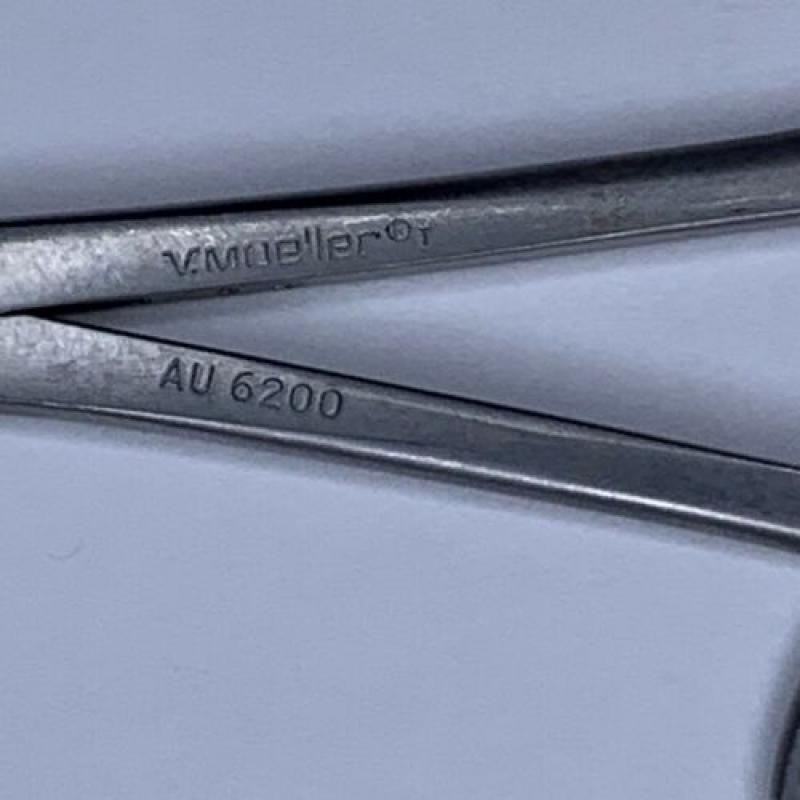 V. Mueller AU6200 ENT 3mm Hartmann-Citelli Ear Punch Forceps 5-1/4