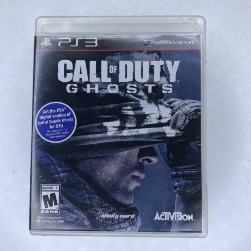 Call of Duty: Ghosts (PlayStation 3, 2013) PS3 Complete game Tested