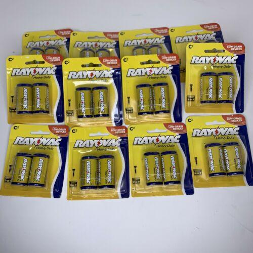 (12) Packs RAY-O-VAC C Cell BATTERIES SEALED NOS 4C-2B 24 Batteries Dated 10/18