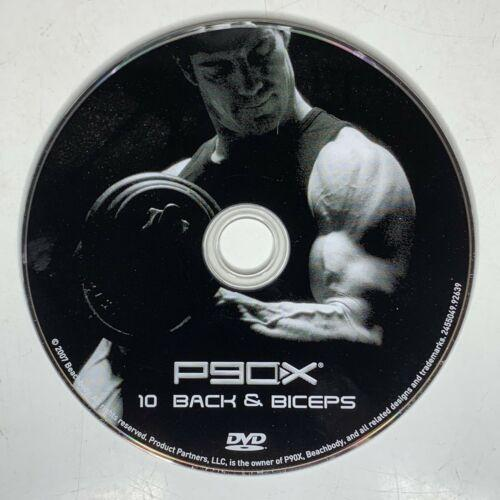 P90X Back & Biceps Beachbody The Workouts Disc 10 Replacement Disc Free Shipping