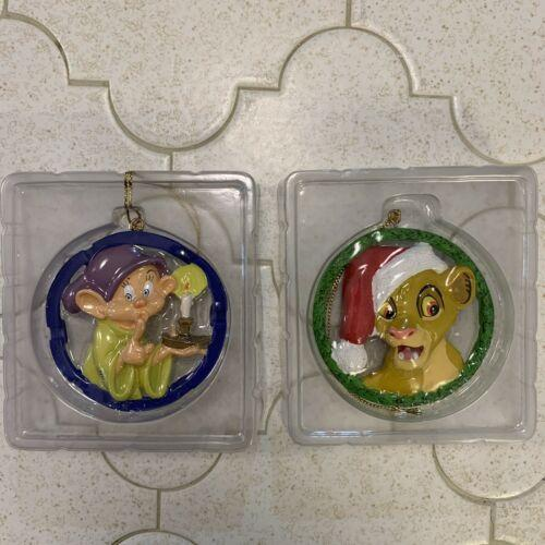 Lion King Simba Dopey Disney Christmas Ornament Grolier Enchanted Tree Treasures