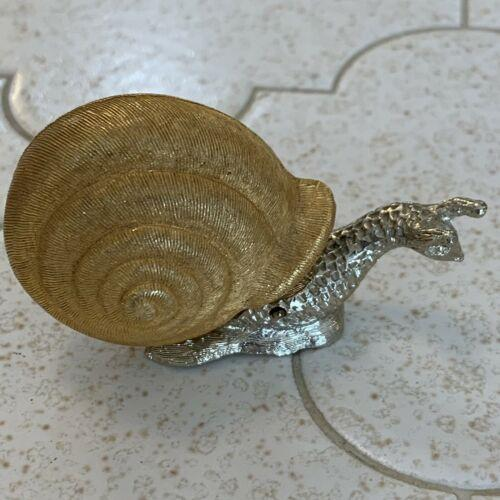 Vintage Florenza Imperial Gold Snail Tape Measure Sewing 1960's Rare