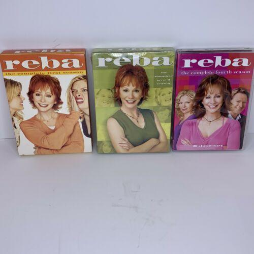Reba Complete Seasons DVD Set Lot - FIRST, SECOND, FOURTH Season 1,2,4