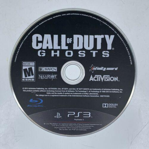 Call of Duty: Ghosts (PlayStation 3, 2013) PS3 Game Disc Only