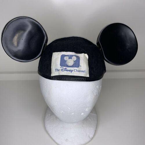 The Mickey Mouse Ears Hat Disney Channel Black Vintage