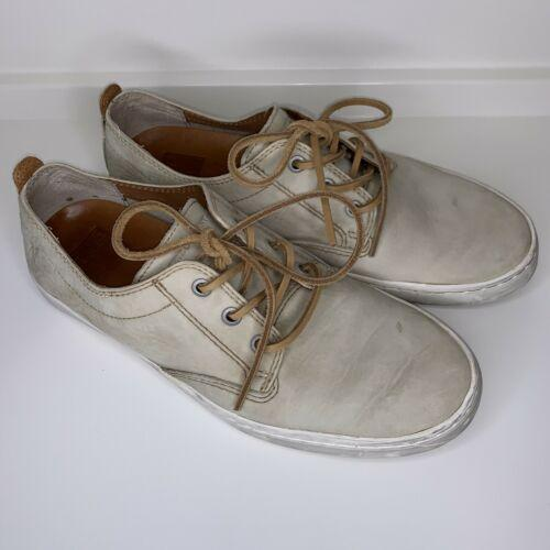 Frye Mens Norfolk Boat Deck Lace Up Casual Walking Fashion Sneakers Shoes Cement